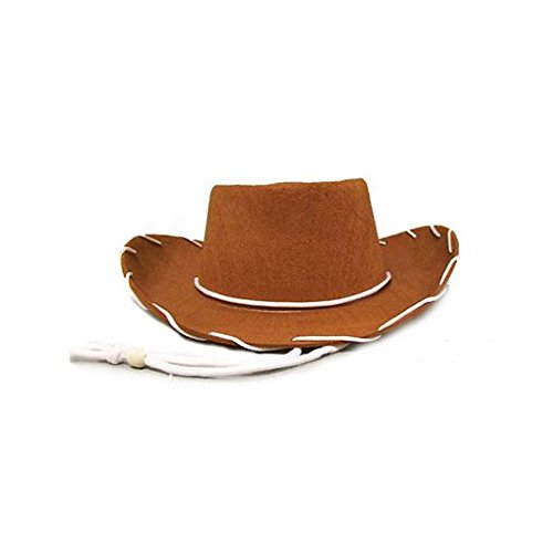Costume De Cowboy Adulte (Fancy Party Halloween Kids Brown Cowboy)