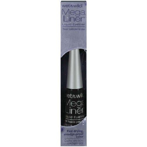 Wet n Wild Mega Liner Liquid Eye Liner Black (3-pack)