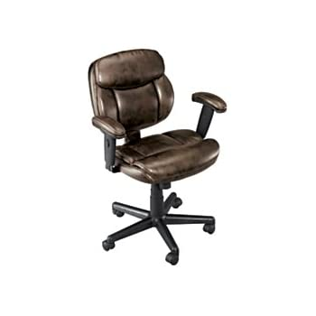 Brenton Studio(R) Ariel Low-Back Task Chair Brown  sc 1 st  Amazon.com & Amazon.com: Brenton Studio(R) Ariel Low-Back Task Chair Brown ...