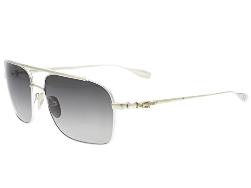 Chrome Hearts - Bangover - Sunglasses (Shiny Silver/Gold Plated, Dark Gray - Sunglasses Chrome Mens Hearts