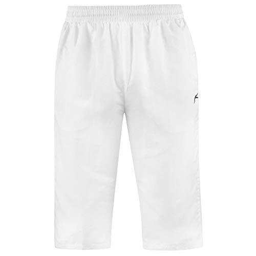 Slazenger - Pantalones de chándal para Hombre Blanco Blanco M ...