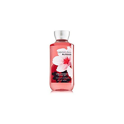 Gel pour la douche bain corps œuvres fleurs de Cerisier japonais 10,0 oz