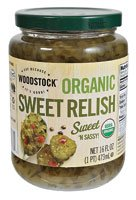Woodstock Organic Sweet Relish -- 16 oz - 2 pc
