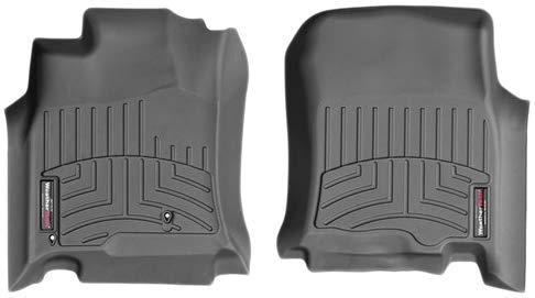 WeatherTech Custom Fit FloorLiner for Chevrolet Equinox - 1st Row (Black) (Best Lip Products 2019)