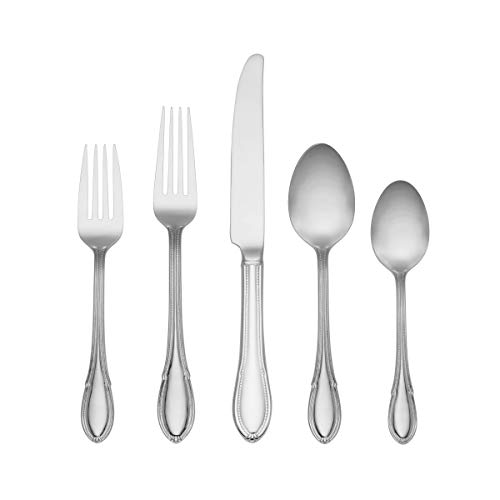 - REED & BARTON WINSLET 45 PIECE Flatware Set SERVICE FOR 8 plus 5 pc Hostess ~NEW IN BOX by Lenox