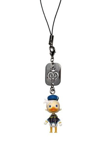 Kingdom Hearts: Donald Duck Mascot Figure Phone Charm (Duck Dangle Donald)