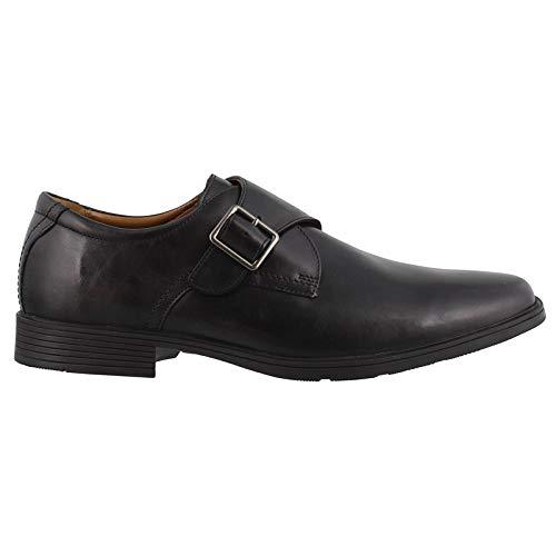 Clarks Men's Tilden Style Shoe, black leather, 13 M US