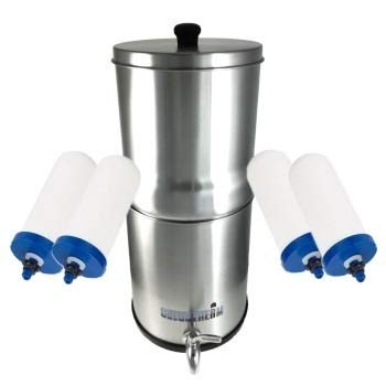 Sistema de filtro de agua de gravedad Coldstream Sentry: Amazon ...