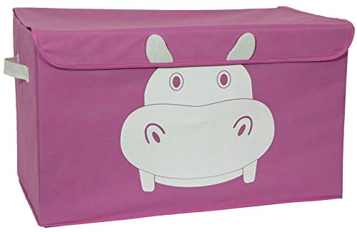 - Katabird Pink Toy Box Organizer Hippo, Limited Edition