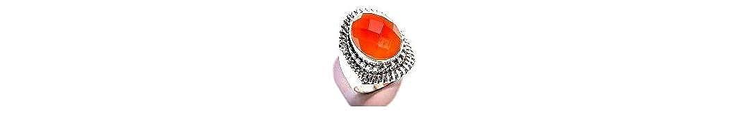 Size 8.5 U.S mughal gems /& jewellery 925 Sterling Silver Ring Natural Carnelian Gemstone Fine Jewelry Ring