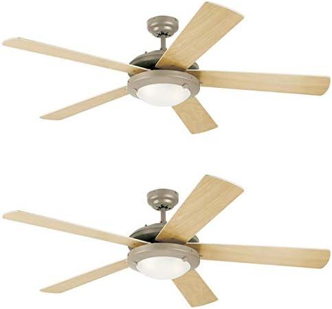 Ciata Lighting 52-Inch Comet Indoor Ceiling Fan