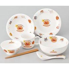 KimuTadashi pottery Children's tableware it should Anpanman Children's tableware 7 piece set 074 752