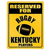 Reserved for Kentucky Players - Usa States - Parking Sign [ Decorative Novelty Sign Wall Plaque ]