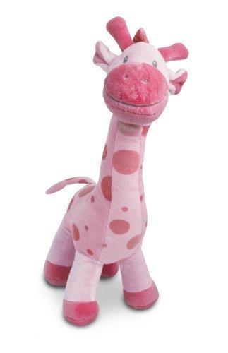Beverly Hills Teddy Bear Company Stuffed Giraffe in Pink, 15
