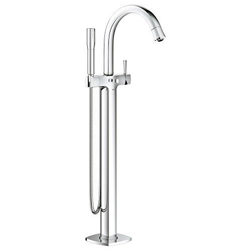 Grandera Floor Standing Tub Filler With Hand Shower ()