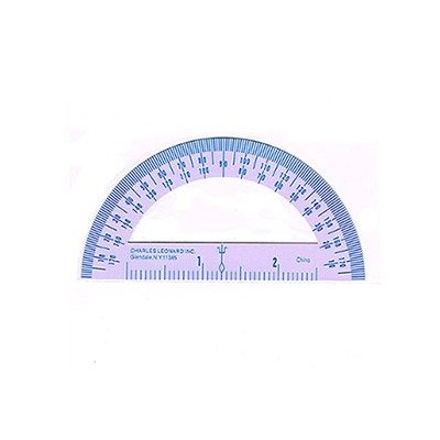 SCBCHL77410-100 - 4 INCH PROTRACTOR METAL pack of 100 by Shoplet Best (Image #1)