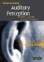 Read Online Auditory Perception: An Analysis and Synthesis pdf