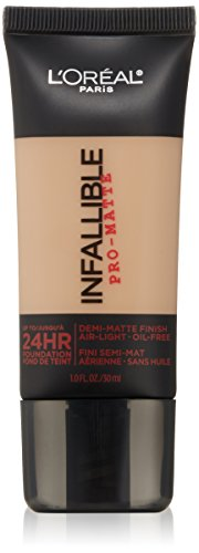 L'Oréal Paris Infallible Pro-Matte Foundation, Golden Beige, 1 fl. oz.