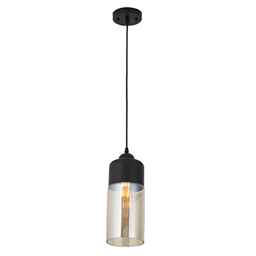 Cylindrical Glass Pendant Lights in US - 3