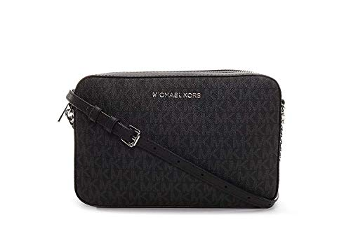 Michael Kors Women's Jet Set Item Crossbody Bag No Size - Lux Black Bag