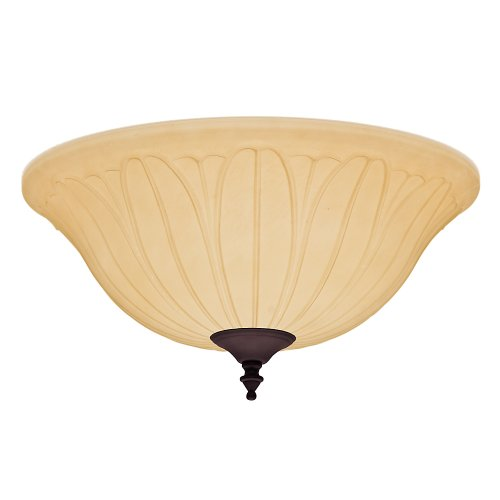 (Hunter 99157 Tea Stain Bowl Light Kit )