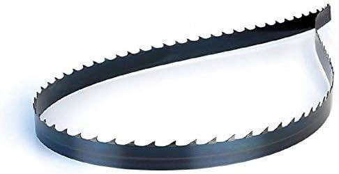 Z/ähne S/ägeband aus Kohlenstoffstahl mit geh/ärteter Zahn und flexiblem R/ücken 2000 mm x 10 mm x 0,6 mm Z/ähne 6 Zoll