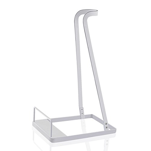 Vacuum Stand for Dyson V6 V7 V8 V10,Other Brands and Generic Stick Cleaner ,Citus Lightweight Warehouse Storage Rack Steel Support Organizer for Handheld Electric Broom (White, Ideal Gift) ()