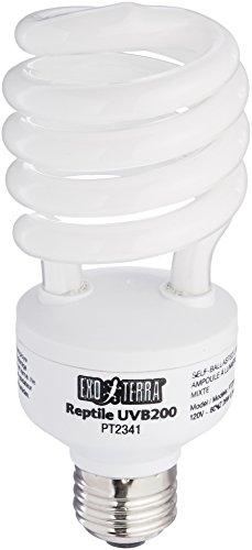- Hagen Exo Terra UVB 200 Intense Compact Fluorescent Lamp, 26-watt