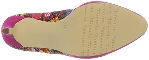 Tamaris Women's 22446 Closed-Toe Pumps, Shell Comb, 5 UK Pink (Pink Comb 514)