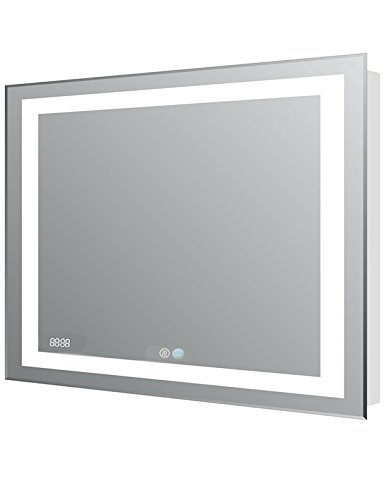 AQUADOM Mirror For Bathroom - With Dimable LED Light- Int...
