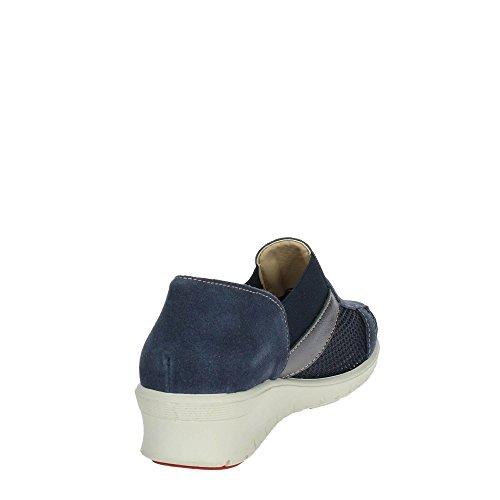 Zapatillas Mujer Bajas 9804 Deporte De Soft Azul Cinzia HBwq7fAxnB