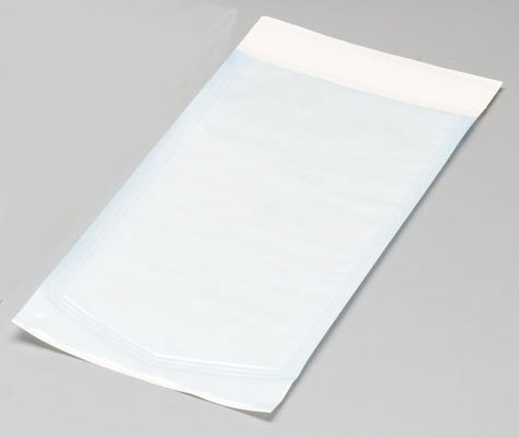 MediChoice Sterilization Pouch, Heat-Seal, 8' x 13', Blue-Tinted, 1314HS0813 (Case of 1000)