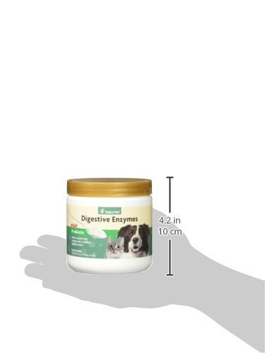 NaturVet Digestive Enzymes Plus Vitamins Supplements