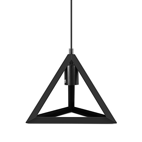 Ceiling Lamp American Retro Loft Style Fixtures Triangle