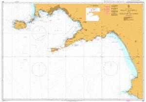 BA Chart 908: Italy – West Coast, Golfo di Napoli and Golfo di Salerno
