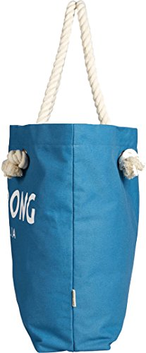 1689 Bag Essentials Fabric Tote Blue Blue Wave Beach Womens Billabong 0 and 1qwCU16