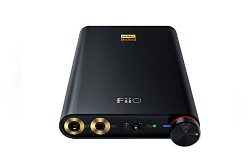 FiiO Q1 Mark II Native DSD DAC & Amplifier for iPhone, iPod, iPad