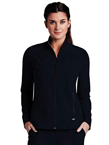 (Barco One 5405 Zipper Front Jacket Black XL)