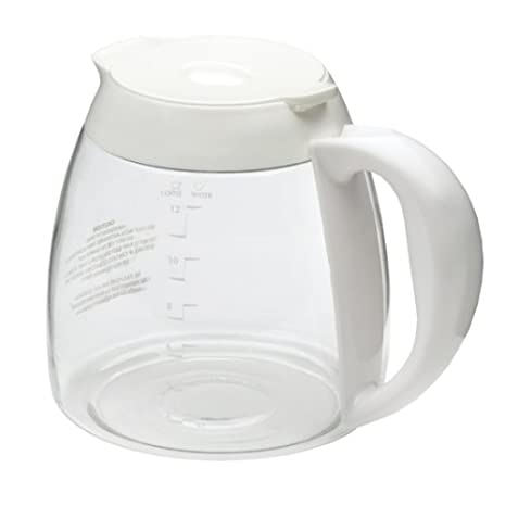 Black Decker Gc2000 12 Cup Replacement Carafe White
