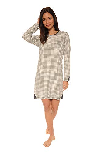 Mujer Gris Christian Pijama Cane Para pqaC6wY