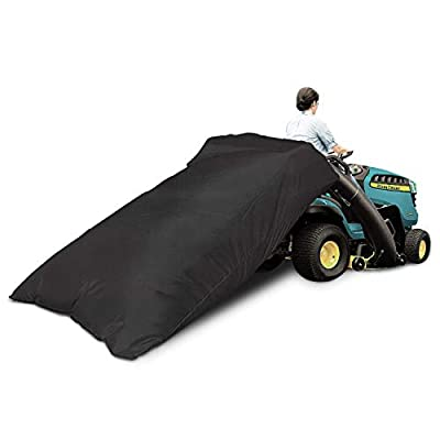 VIBIRIT Lawn Tractor Leaf Bag, Garden Lawn and Leaf Trash Bags Reusable Collecting Leaves Waste Bag, Bag with Chute Kit for Cub Cadet XT1 LT42, XT1 LT46, XT2 LX42, XT2 LX46 Lawn Tractors