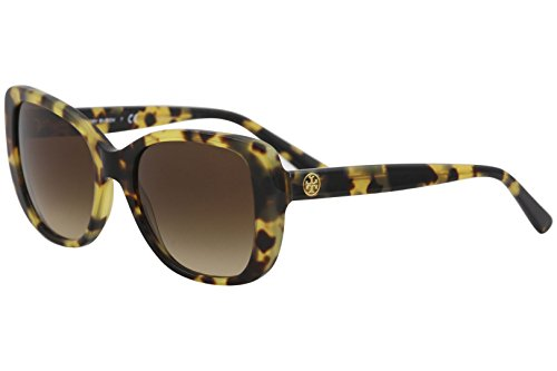 Tory Burch Women's 0TY7114 53mm Tokyo Tortoise/Brown Gradient One - All T Burch Tory