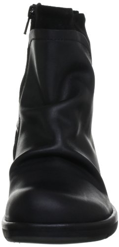 Fly London Mel 2P141633-2 - Botines fashion de cuero para mujer Negro
