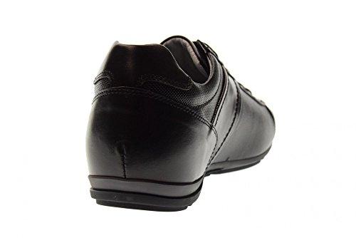 P800160U Nero Deporte Giardini Hombre de Zapatillas Negro 100 Bajas OwZSqOv