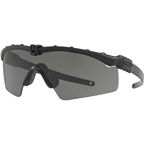 Oakley Men's Standard Issue M Frame 3.0 Sunglasses,OS,Matte Black/Grey