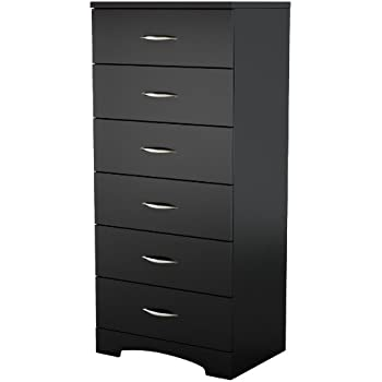 South Shore Step One Collection  Drawer Chest Pure Black