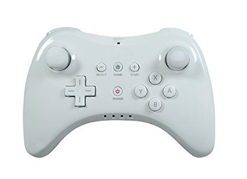 HBetterTech(TM) New White Wireless Game Classic Pro Controller GamePad Remote for Nintendo Wii U