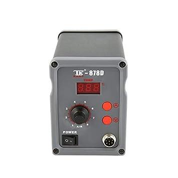 Estación de soldadura ArgoBo TAIKD digital caliente del ventilador de aire de la pistola de calor ...