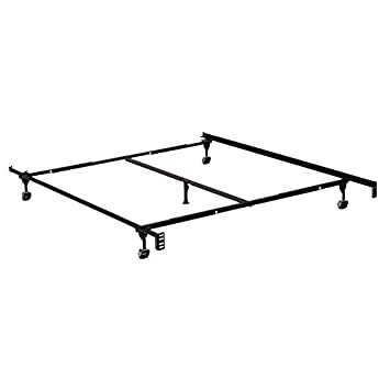 adjustable metal mattress frame fullqueen twin adjustable frame 5 legs