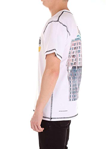 T Standard Algodon shirt United Hombre Blanco 18sbts09white CRqxxvwO